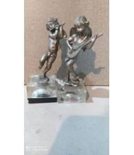 Statuine Angeli in ottone