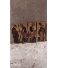 Set da 4 Santini in legno.