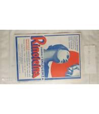 Manifestino pubblicitario 1940