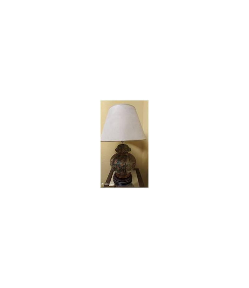 Lampada in terracotta